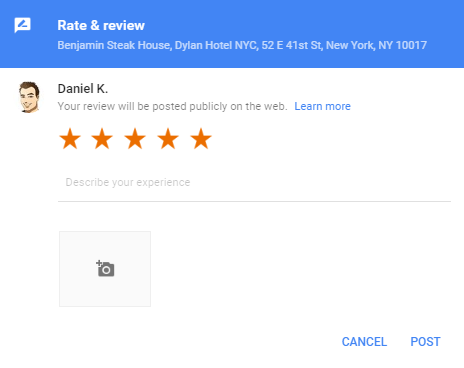 Google Reviews Pro Write a review